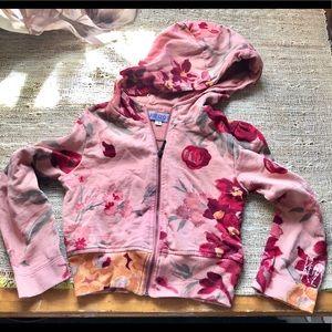Kenzo Girl's ROSES 🌹 Hoodie Sweatshirt Size 5